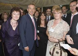 Grainne-Fadden-with-Tony-Blair